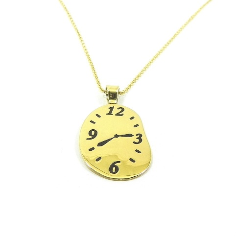 Necklace with your favorite time engraved