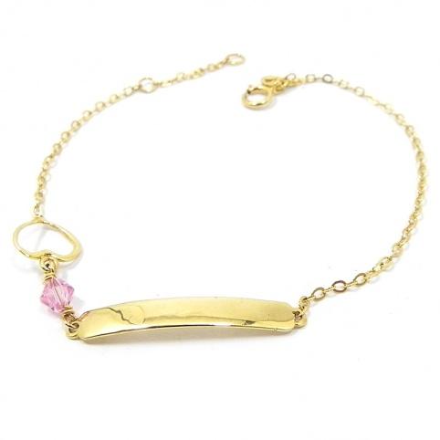Gold K14 bracelet