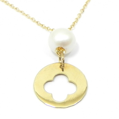 Gold K14 necklace